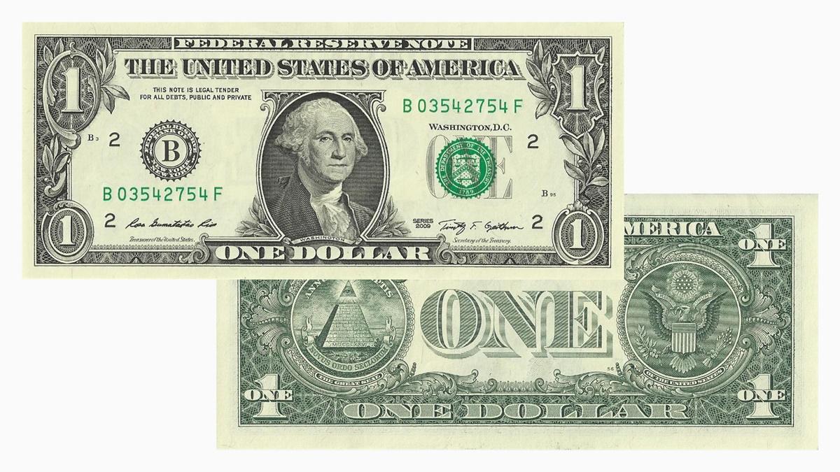 Bankovka 1 dolar
