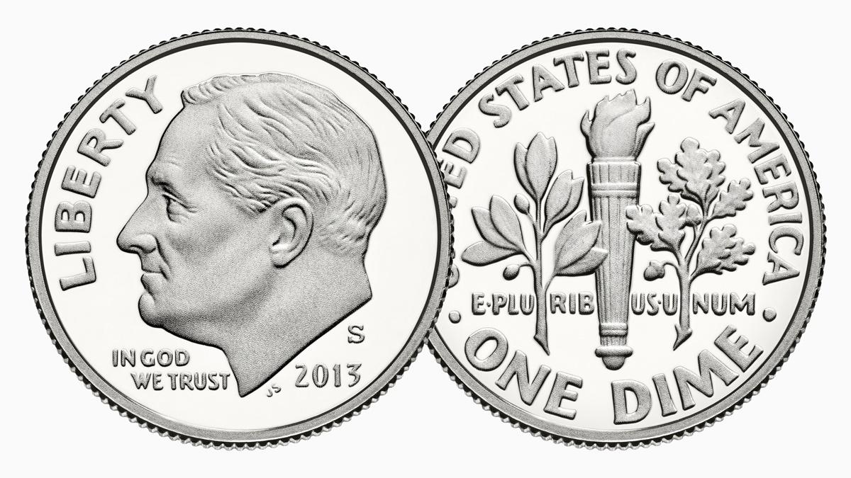 Mince 10 centů