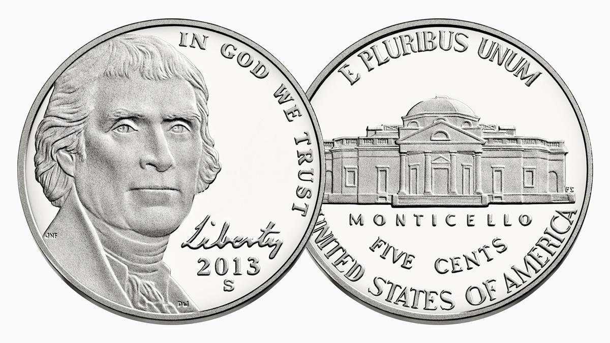 Mince 5 centů
