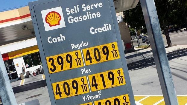 Benzín USA | © Petr Novák