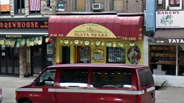 Česká hospoda Zlatá Praha v Queensu | © Google