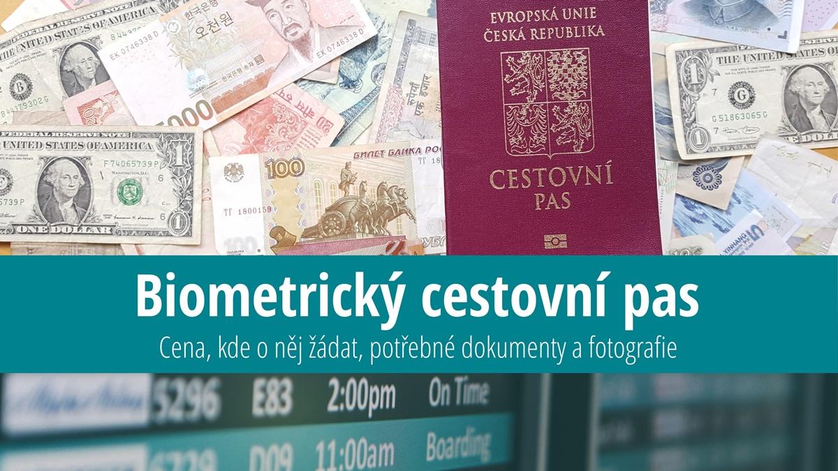 Biometrický cestovní pas