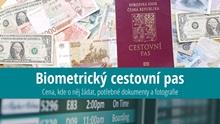 Cestovní pas sbiometrickými údaji: Cena, kde žádat, platnost