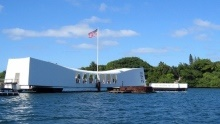 Co vidět na Havaji: Památník USS Arizona Memorial vPearl Harbor