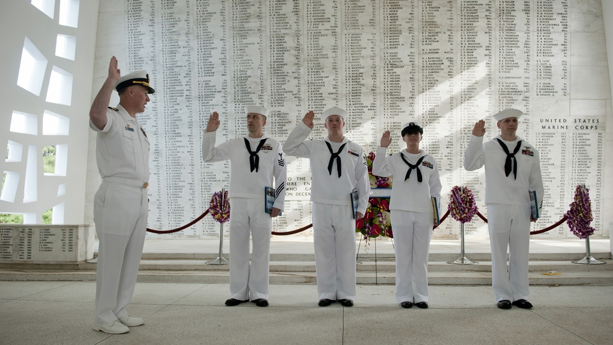 Pearl Harbor Memorial   © Official U.S. Navy Page