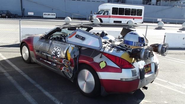 Auto z Hvězdných válek jsme potkali u USS Iowa | © Franta | © Franta