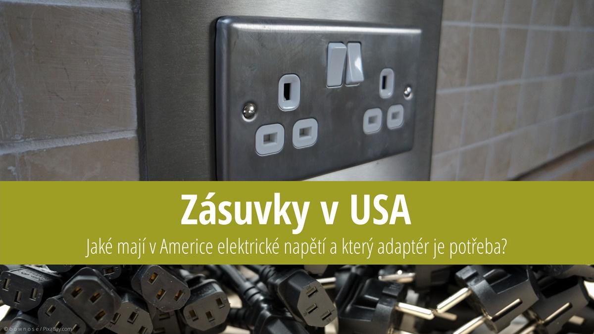 Zásuvky v USA, adaptér do USA | © b o w n o s e