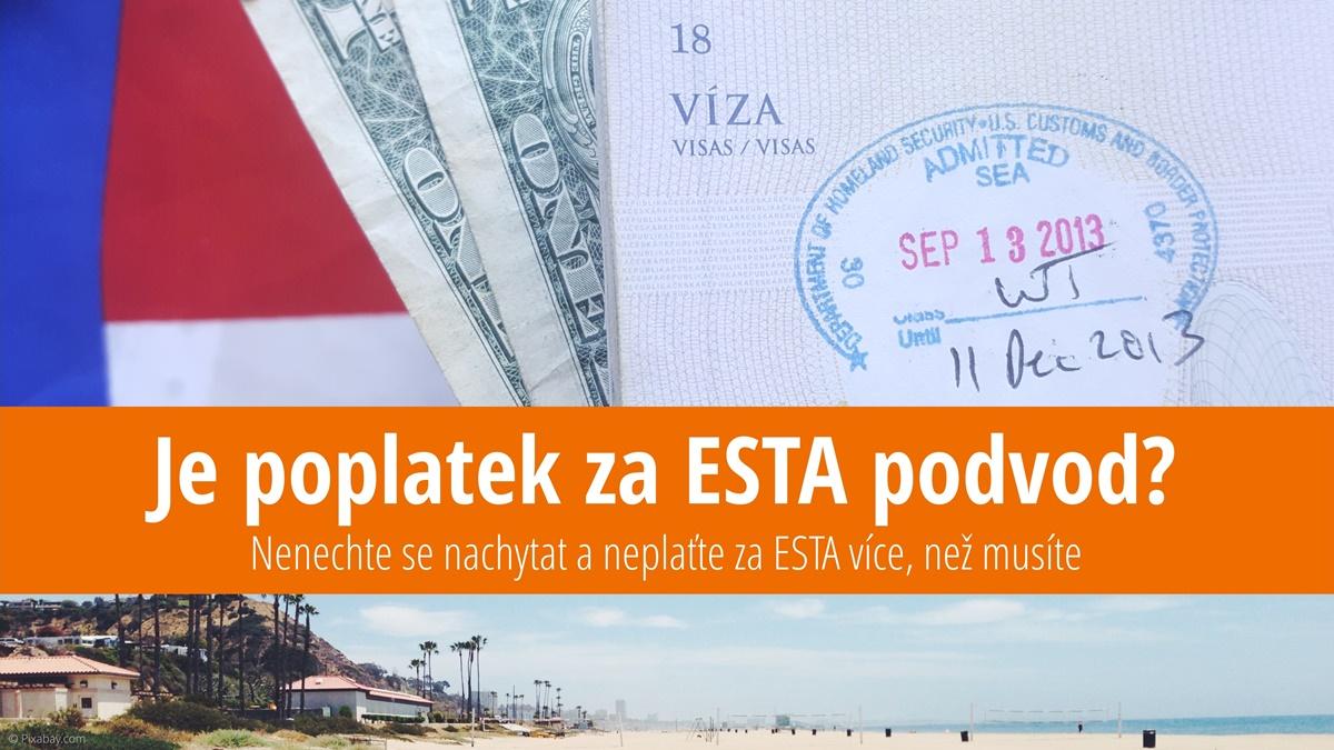 Formulář ESTA do USA