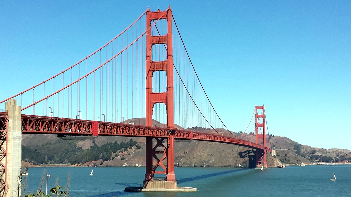 Most Golden Gate Bridge v San Franciscu | © Petr Novák