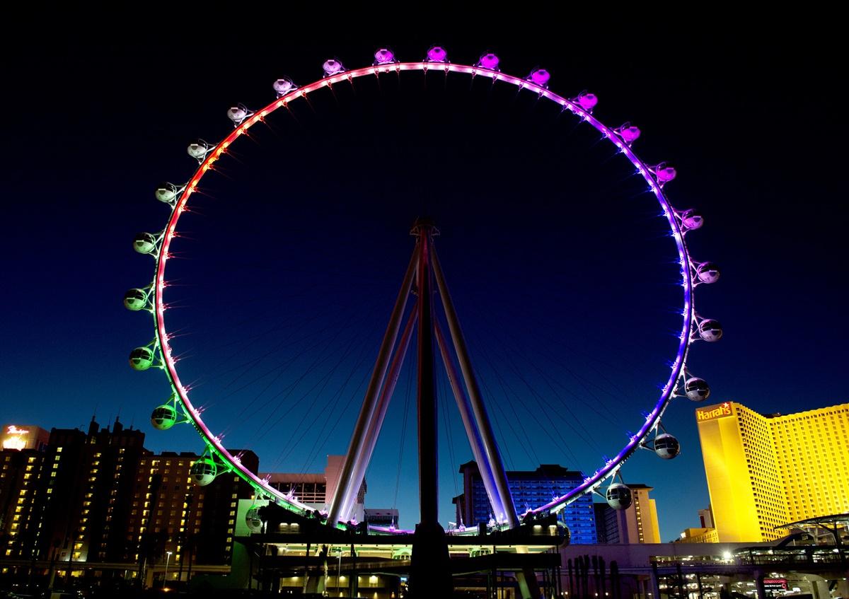 Ruské kolo High Roller v Las Vegas | © Denise Truscello