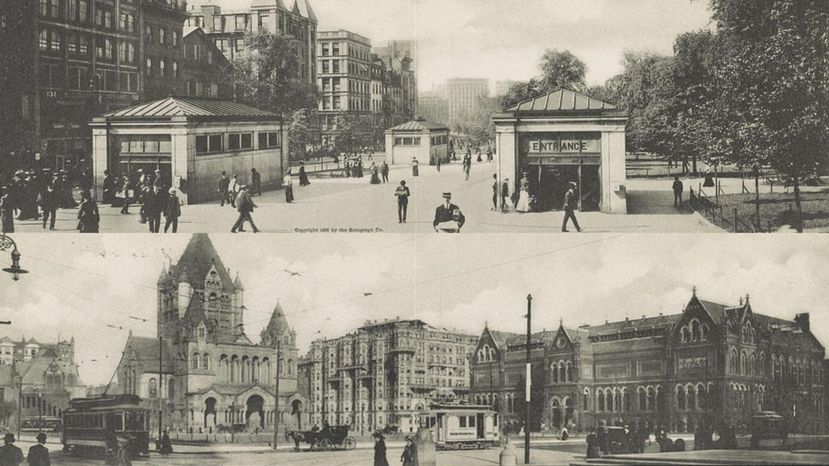 Historická fotka města Boston | © Knihovna Kongresu USA