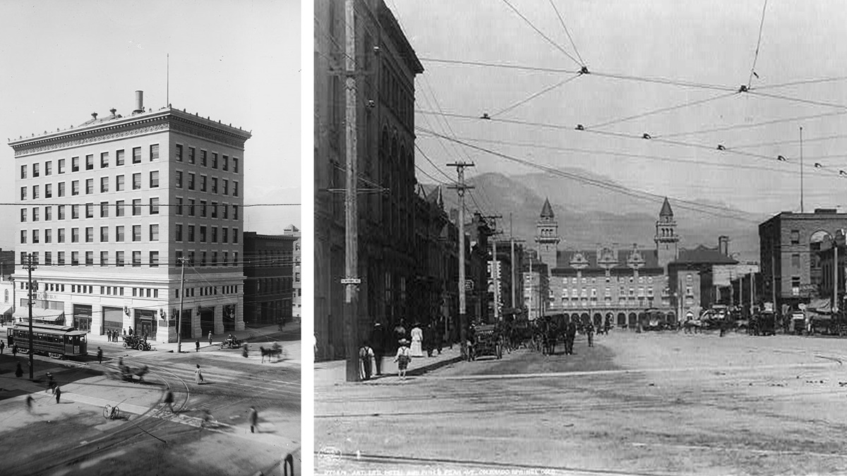 Historická fotka města Colorado Springs | © Knihovna Kongresu USA