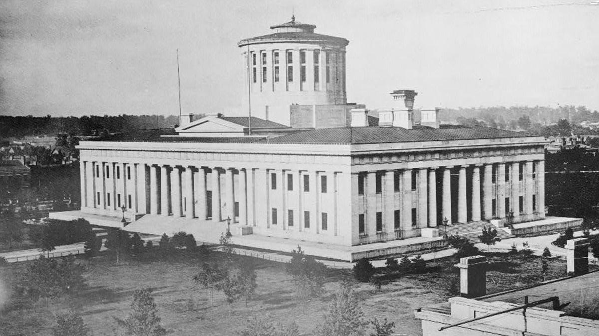 Historická fotka města Columbus | © Knihovna Kongresu USA