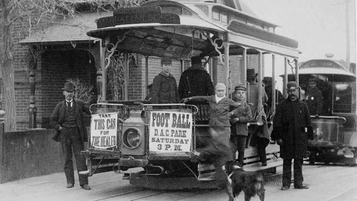 Historická fotka města Denver | © Knihovna Kongresu USA