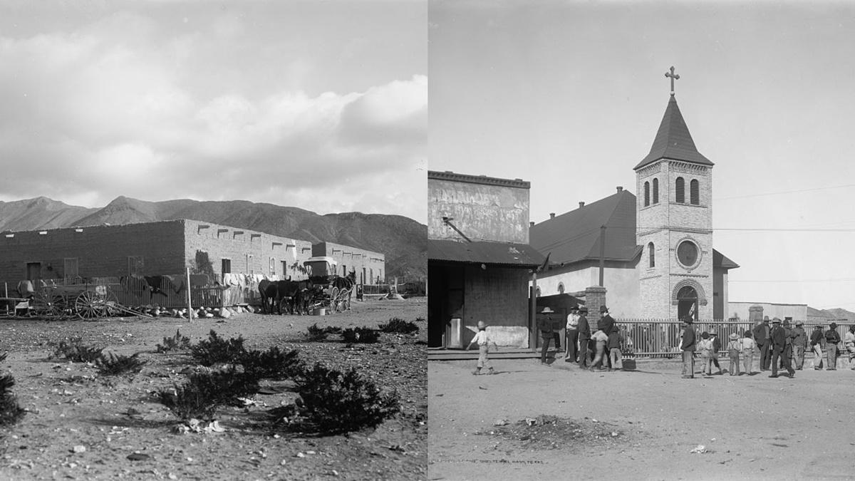 Historická fotka města El Paso | © Knihovna Kongresu USA