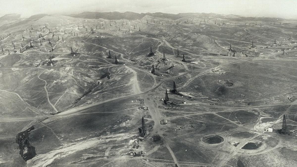 Historická fotka města Fresno | © Knihovna Kongresu USA