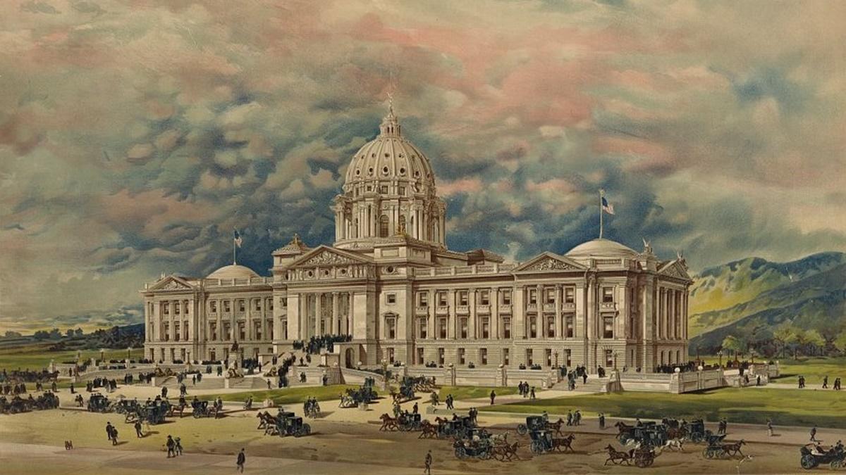 Historická fotka města Helena | © Knihovna Kongresu USA