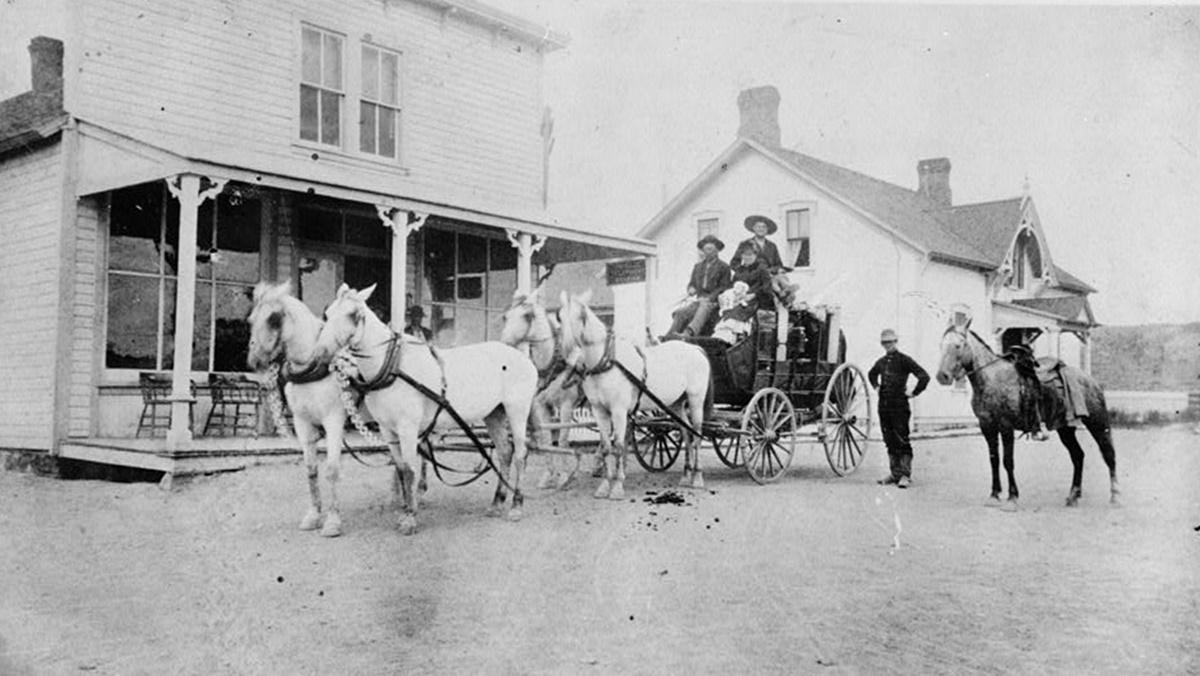 Historická fotka města Cheyenne | © Knihovna Kongresu USA