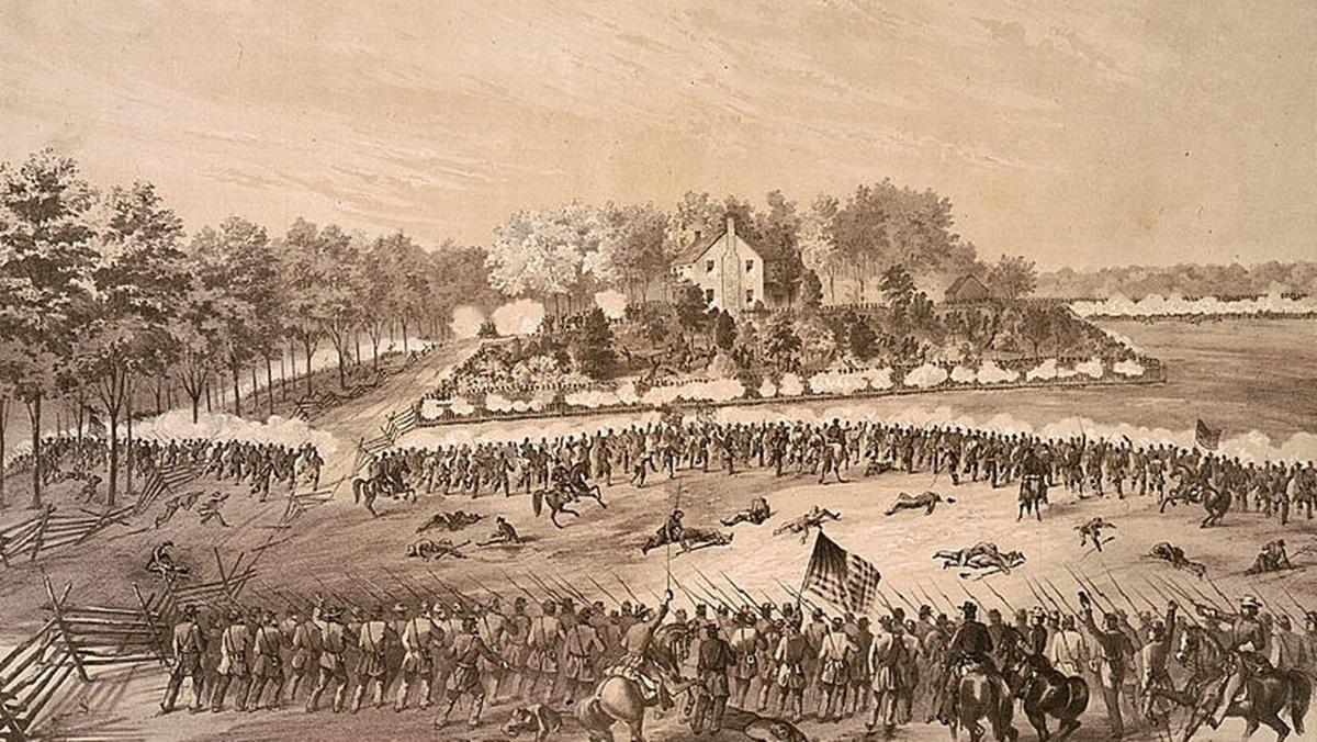 Historická fotka města Jackson | © Knihovna Kongresu USA