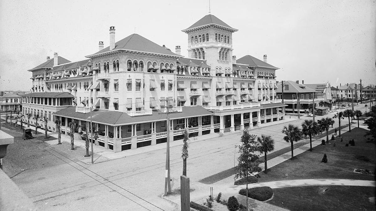 Historická fotka města Jacksonville | © Knihovna Kongresu USA