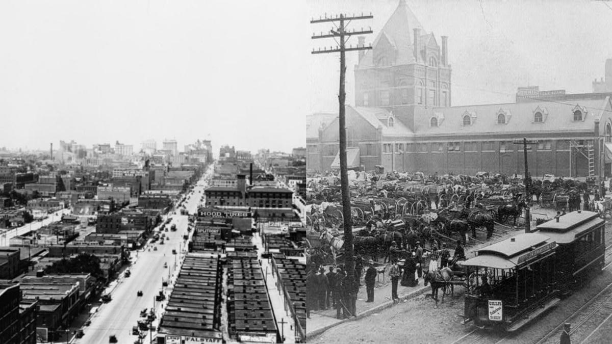 Historická fotka města Kansas City | © Knihovna Kongresu USA