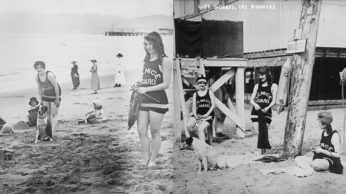 Historická fotka města Los Angeles | © Knihovna Kongresu USA