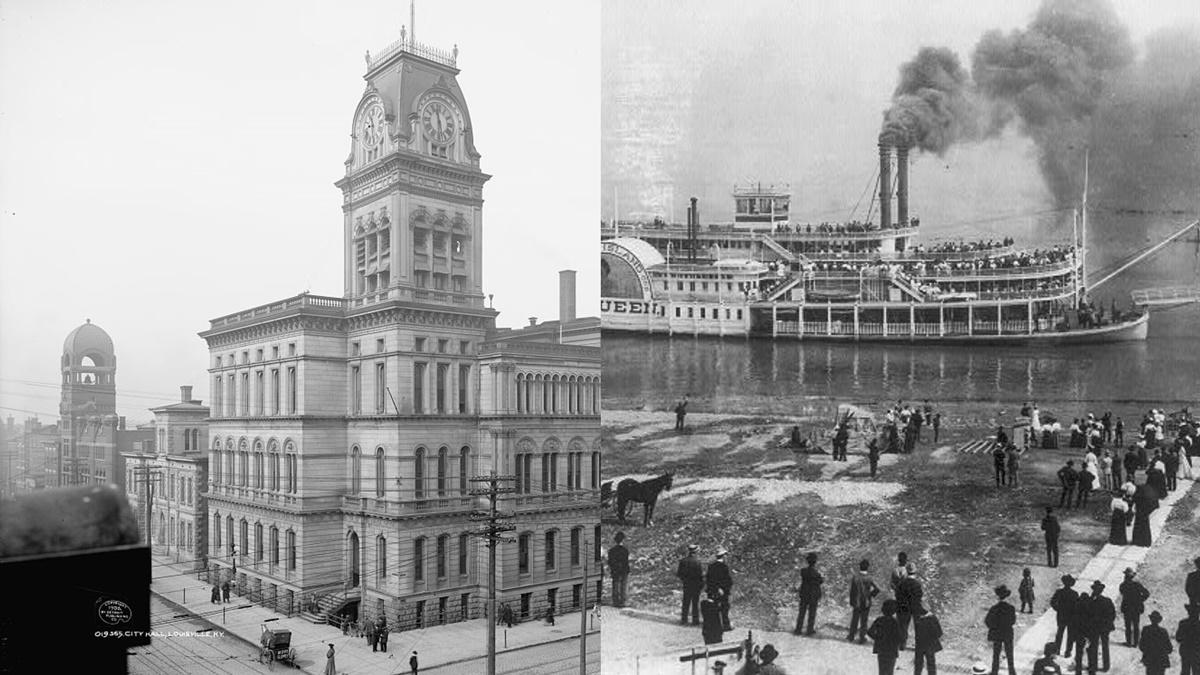 Historická fotka města Louisville | © Knihovna Kongresu USA