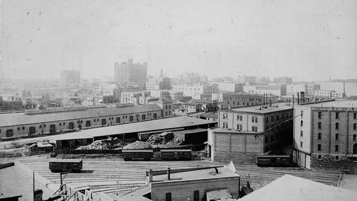 Historická fotka města Minneapolis | © Knihovna Kongresu USA