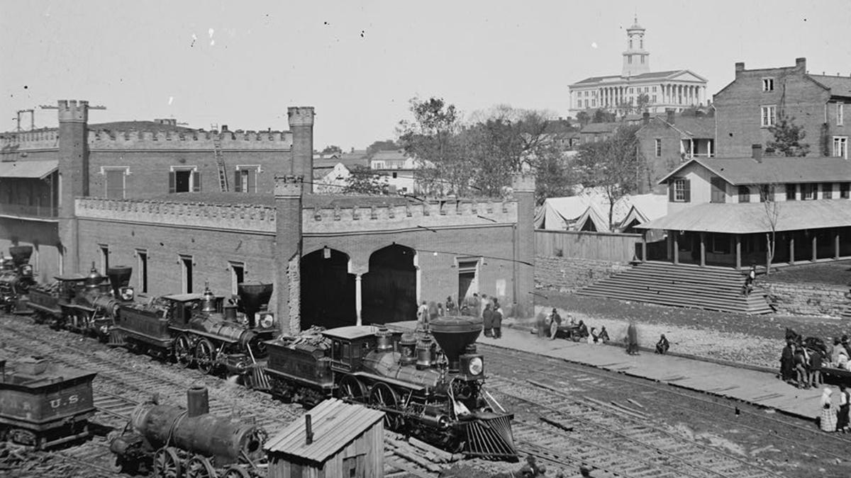 Historická fotka města Nashville | © Knihovna Kongresu USA