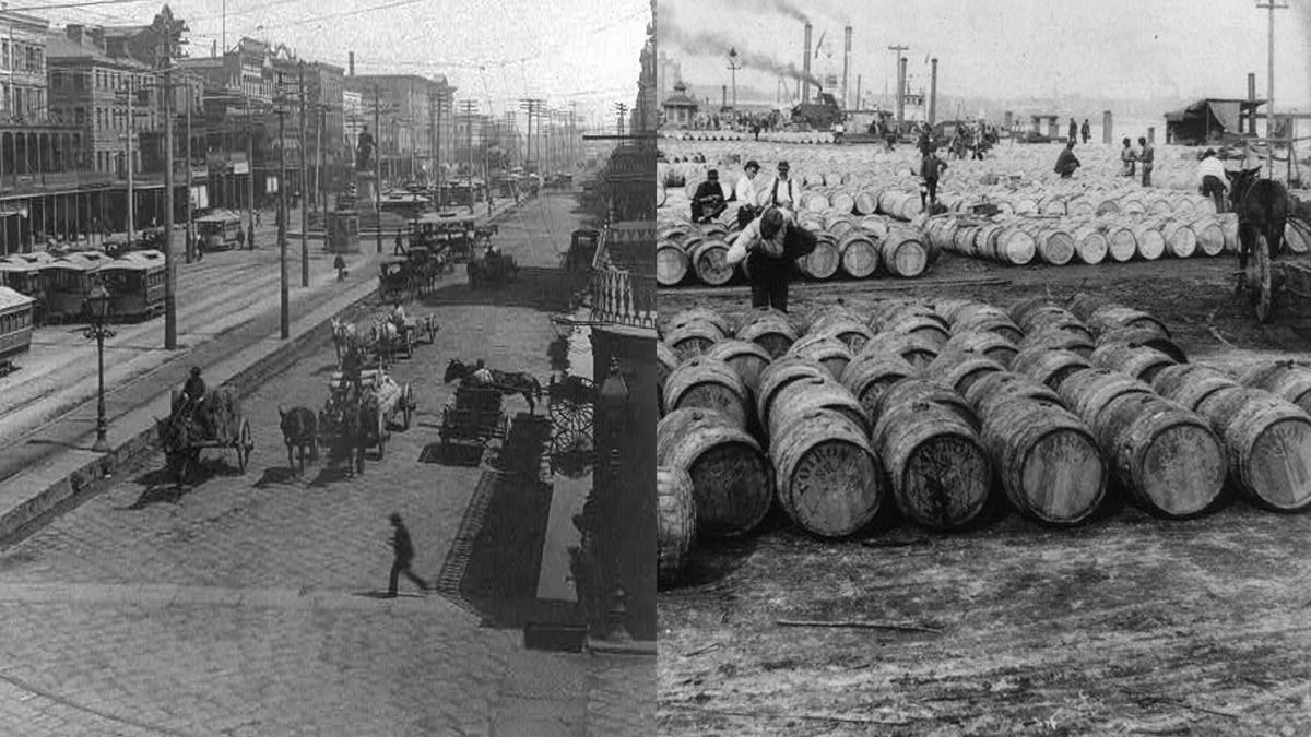 Historická fotka města New Orleans | © Knihovna Kongresu USA