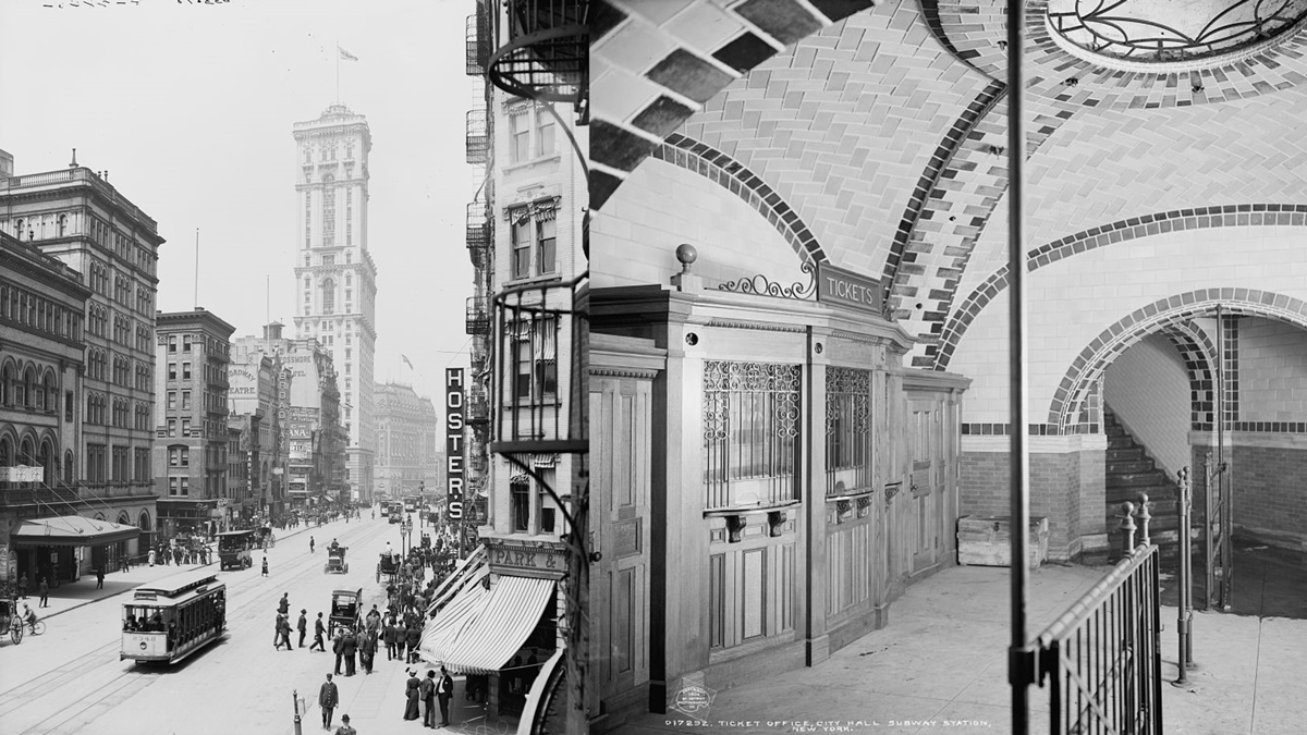 Historická fotka města New York | © Knihovna Kongresu USA