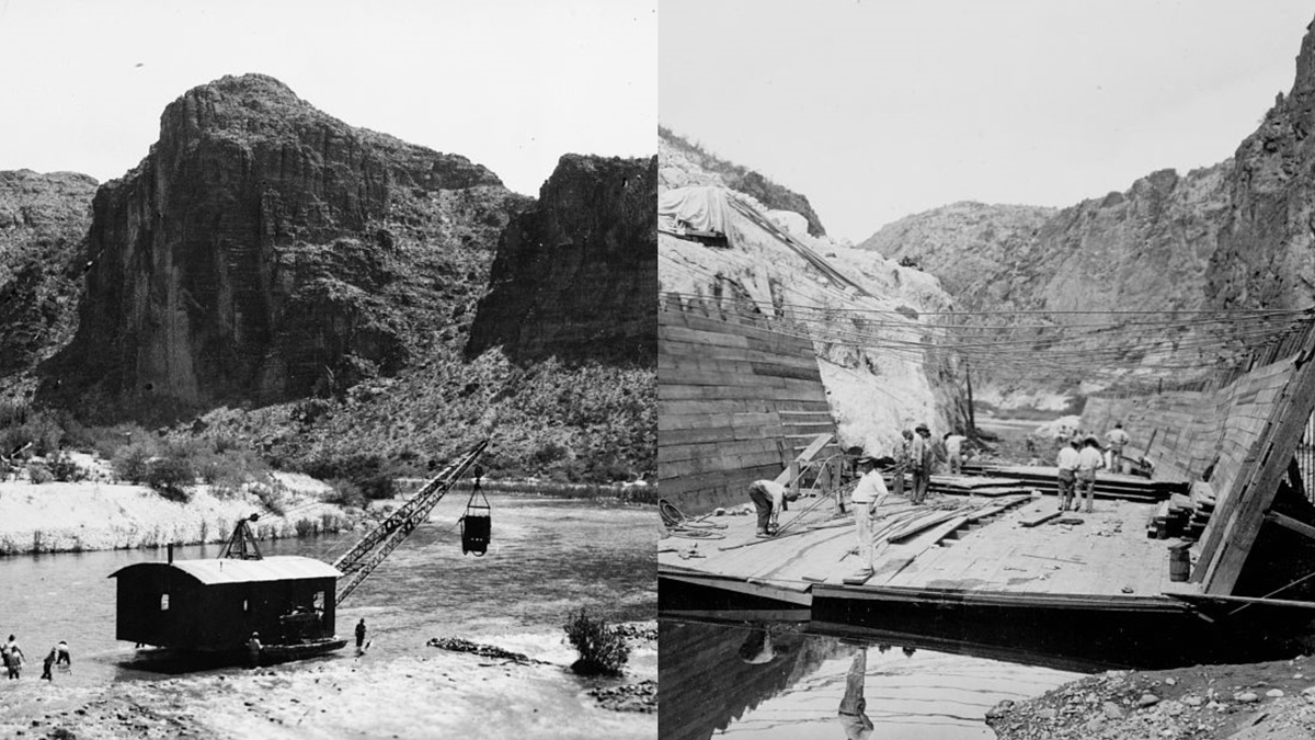 Historická fotka města Phoenix | © Knihovna Kongresu USA