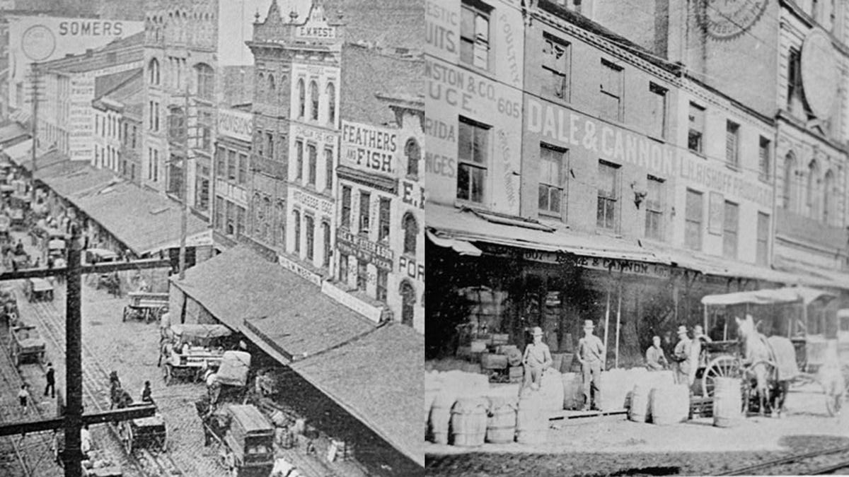 Historická fotka města Pittsburgh | © Knihovna Kongresu USA