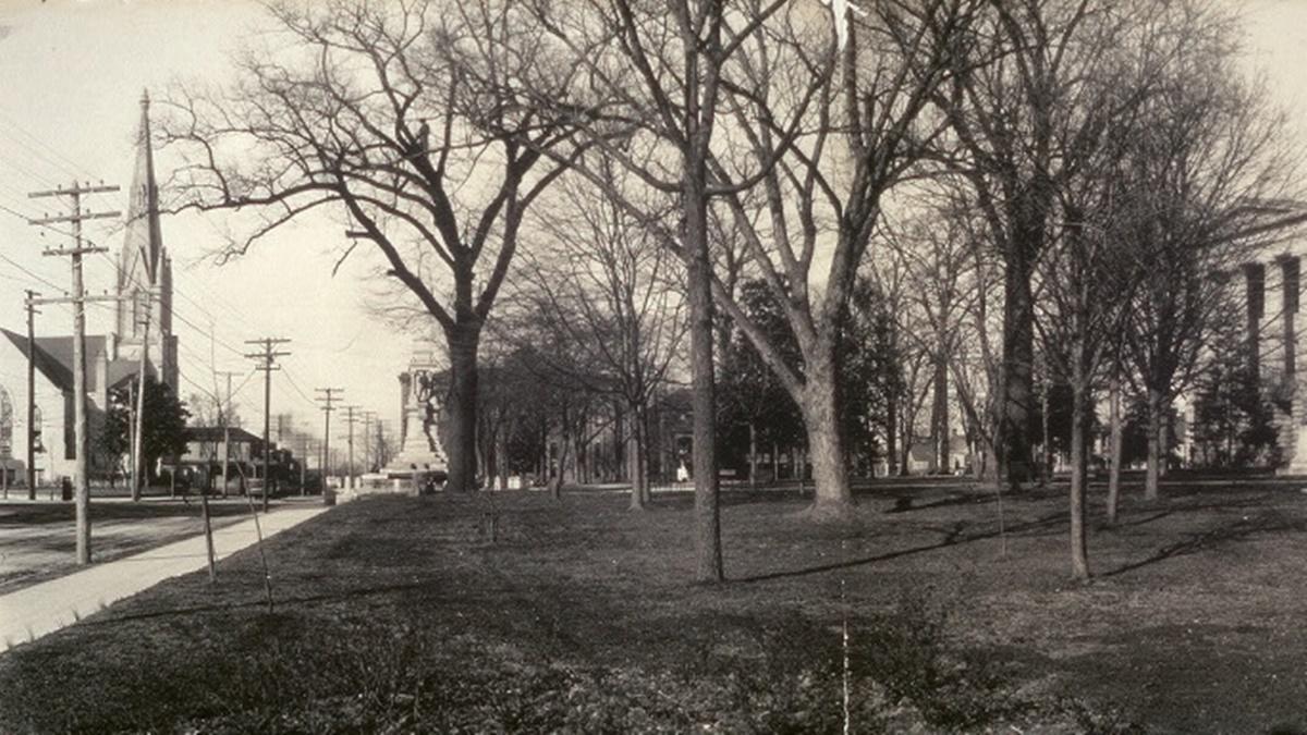 Historická fotka města Raleigh | © Knihovna Kongresu USA