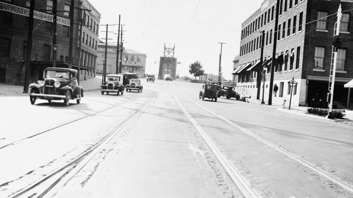 Historická fotka města Sacramento | © Knihovna Kongresu USA