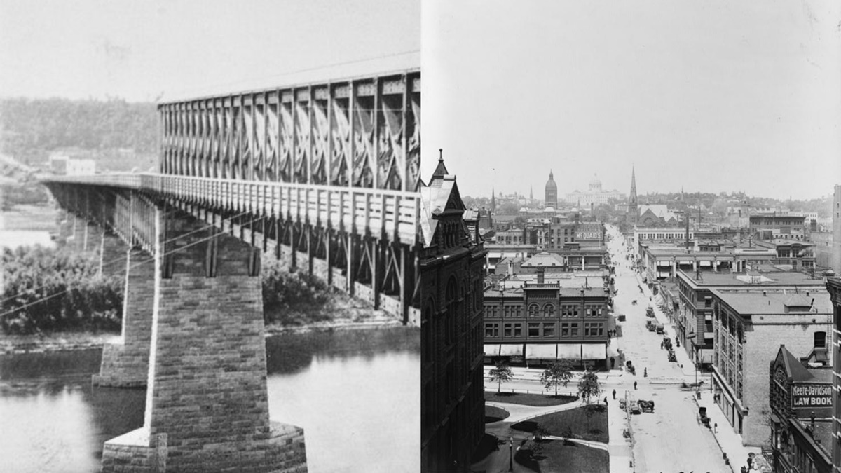 Historická fotka města Saint Paul | © Knihovna Kongresu USA