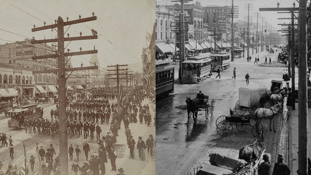 Historická fotka města Salt Lake | © Knihovna Kongresu USA