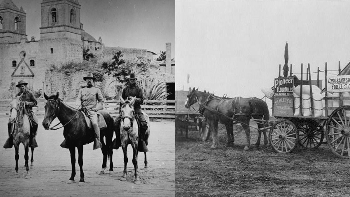 Historická fotka města San Antonio | © Knihovna Kongresu USA