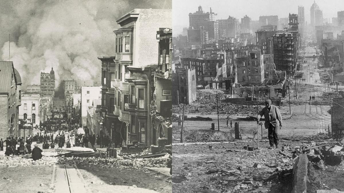 Historická fotka města San Francisco | © Knihovna Kongresu USA