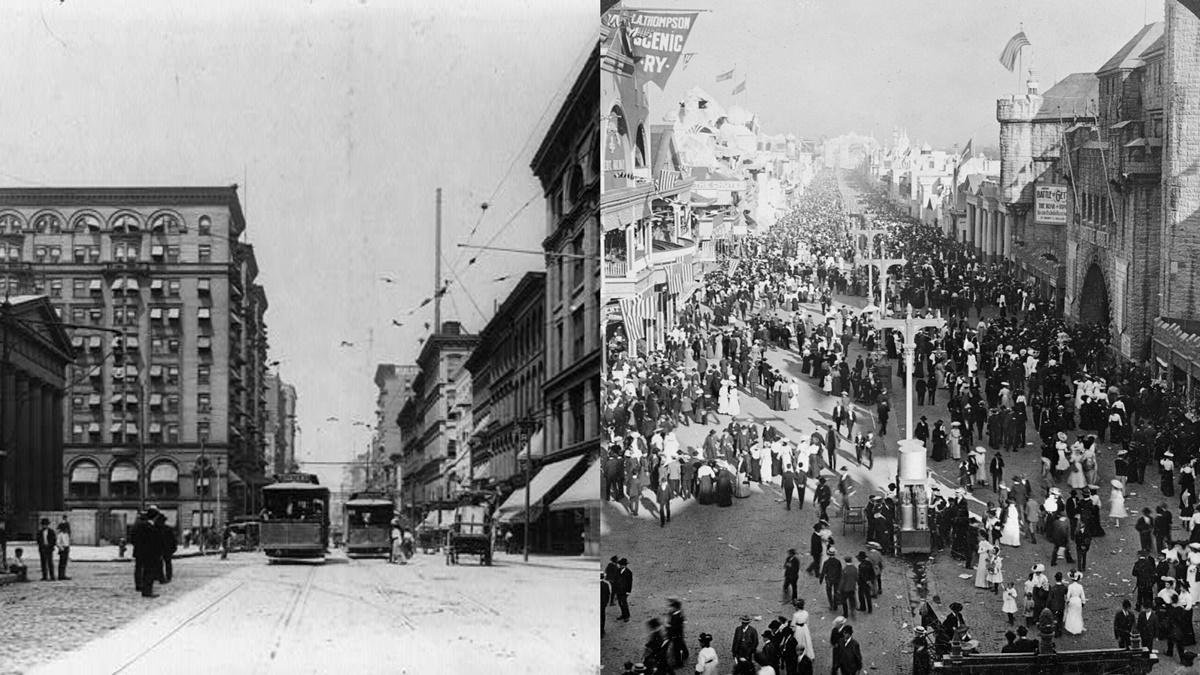 Historická fotka města St Louis | © Knihovna Kongresu USA