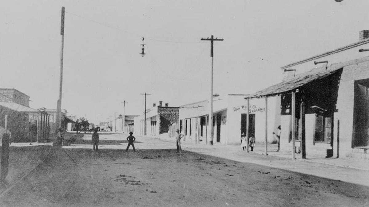 Historická fotka města Tucson | © Knihovna Kongresu USA