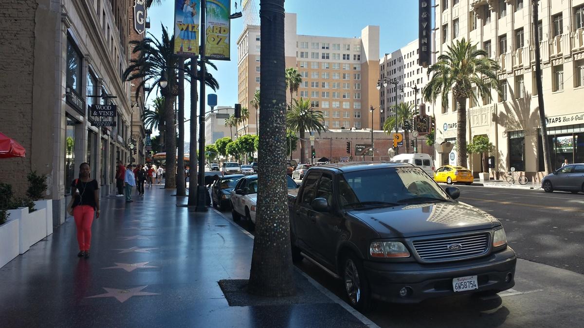 Hollywoodský chodník slávy | © Petr Novák