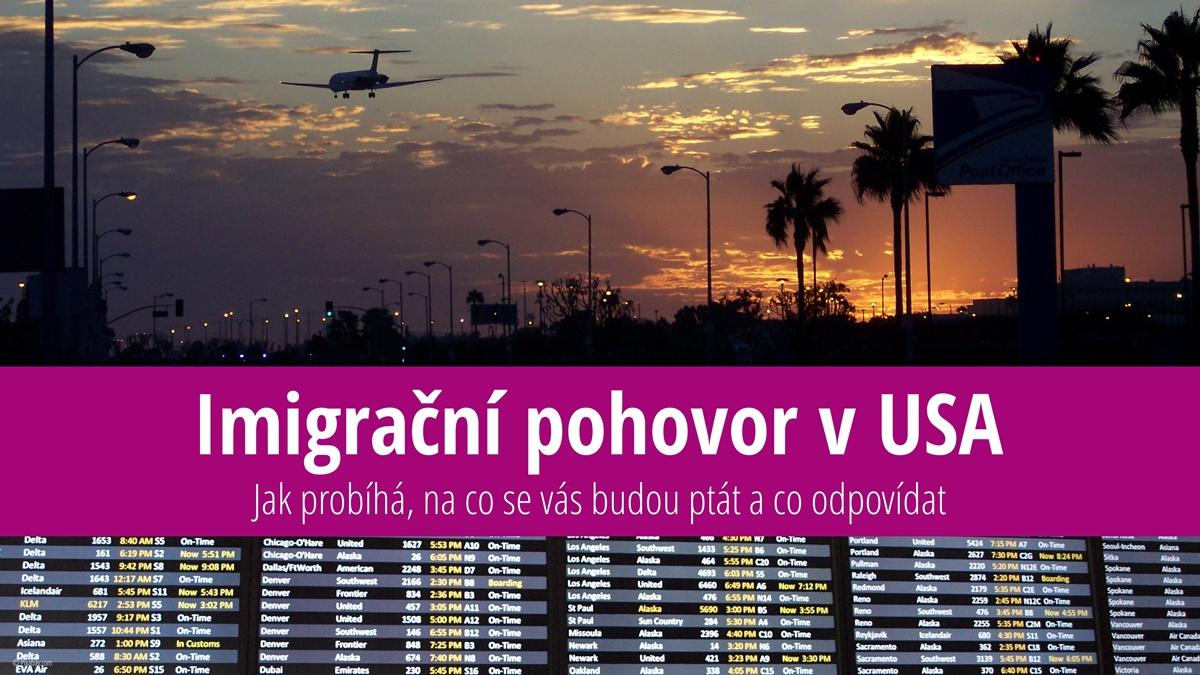 Imigrační kontrola v USA | © Petr Novák