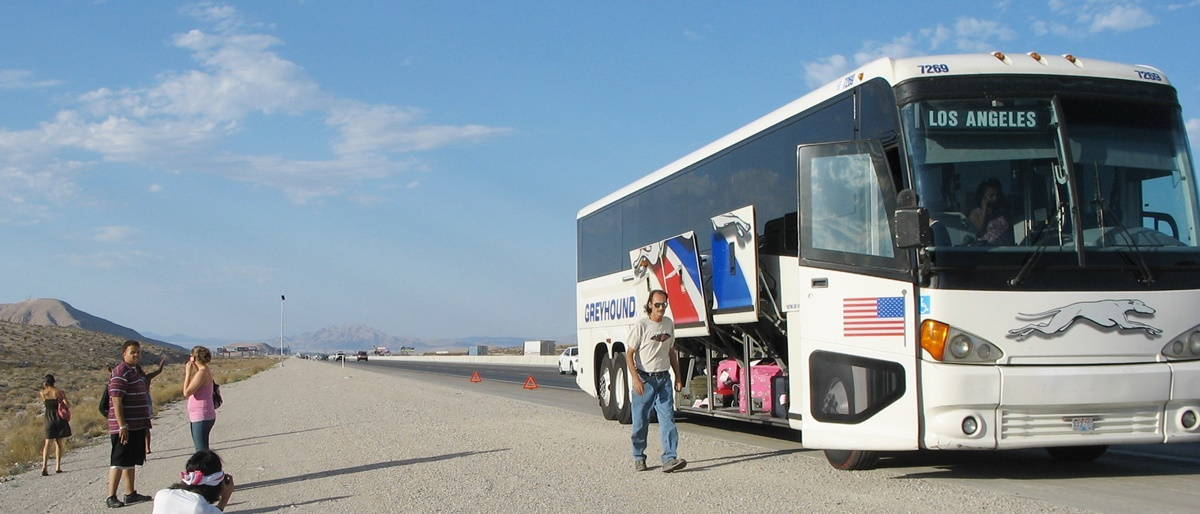 Autobusy Greyhound v USA | © Eva / Flickr.com