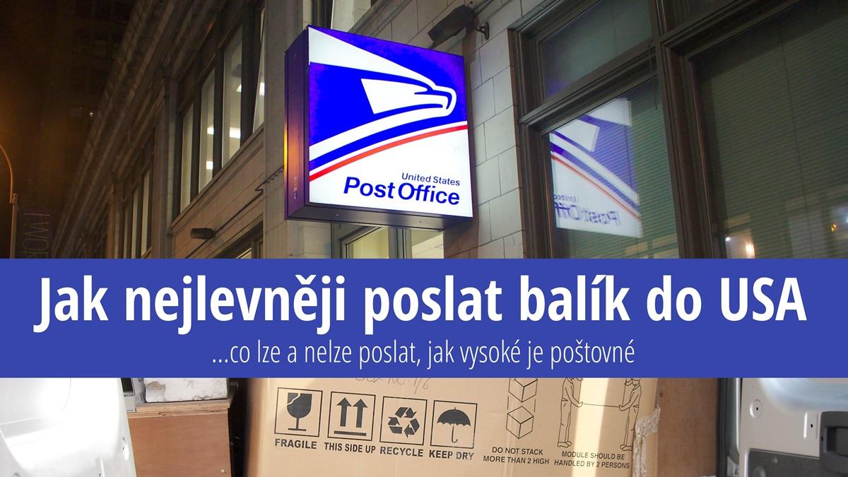 Jak nejlevněji poslat balík do USA