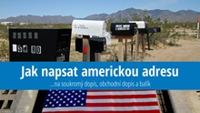 Jak správně napsat americkou adresu