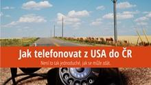 Jak telefonovat zUSA do Česka