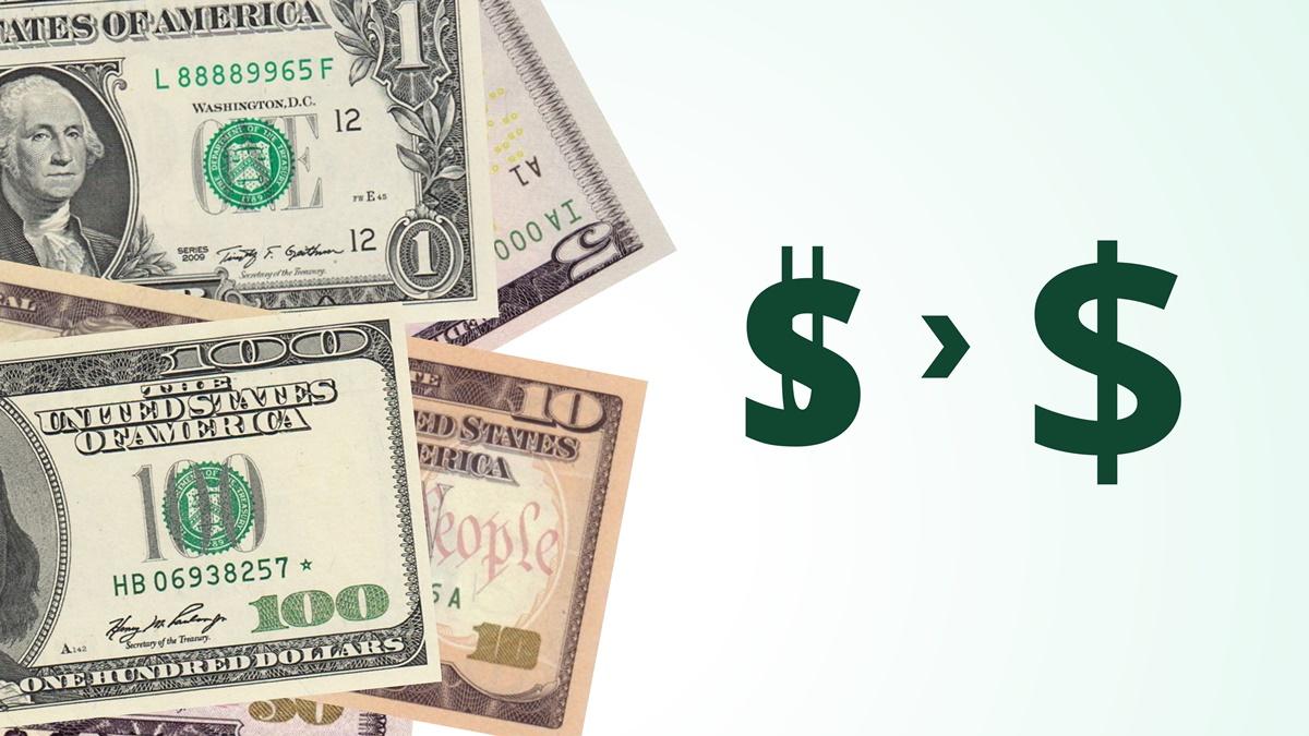 Symbol dolaru | copy; Petr Novák