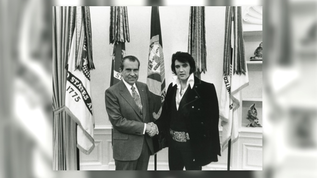 Richard Nixon a Elvis Presley | © Whitehouse.gov