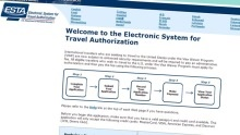 Již mám platné vízum do USA. Musím vyplňovat formulář ESTA?